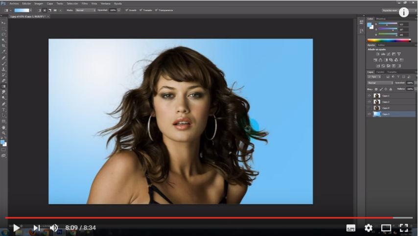 Curso de Recorte Perfecto de Imagen en Adobe Photoshop CS6