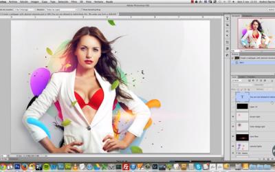 Curso de Efecto abstracto Perfecto de Imagen en Adobe Photoshop