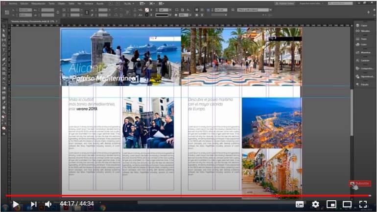 Diseño e Impresión de una Revista desde Cero con InDesign